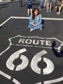 La ruta 66 en Carsland